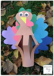 thanksgiving crafts for kids lantern turkeys