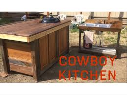 cowboy kitchen outdoor kitchen grill station youtube