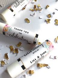 lip balm favors 12 personalize lip balm favors thank you for celebrating with