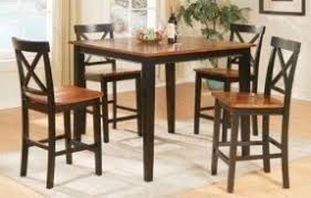 Counter Height Table And Chairs Set Bar Height Table And Chairs Set Foter