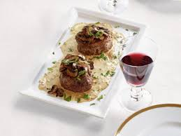 cuisine filet mignon filet mignon with mustard and mushrooms recipe ina garten food