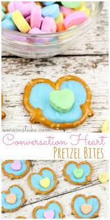 conversation hearts conversation heart pretzel bites a s take