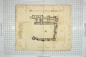 floor plan of windsor castle 22 antique print 1820 plan ground floor upper ward windsor castle