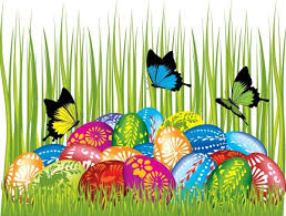 Easter Resurrection Decorations by Easter Cards And Decorations Butterfly Eggs 04 Vector Free Vector