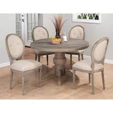Large Wooden Dining Table by Contemporary Dining Table Set With Four Custom Size Round Back