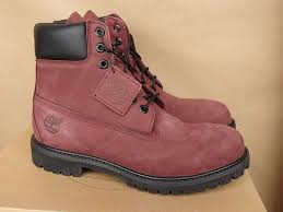 womens size 11 timberland boots 6 inch premium boots burgundy 180 size 11 ebay