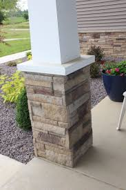 Pillars Decoration In Homes by Best 25 Front Porch Pillars Ideas On Pinterest Porch Posts