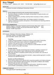 College Counselor Resume Guidance Counselor Resume Sample Resume Generalist Human