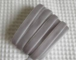 grey ribbon grey velvet ribbon etsy
