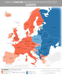 10 Revealing Maps Of Religion In Europe Churchpop by 100 Bulgaria Population Density Map Map Of World Population