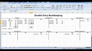 Excel Spreadsheet Courses Online Free Online Bookkeeping Course 9 Closing T Accounts Youtube