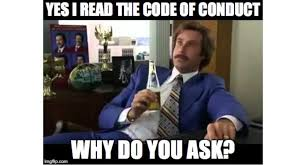 Friday Adult Memes - friday meme code of conduct resonate pictures