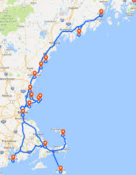 New England Map by New England Tour Small Group Tours Olde Ipswich Tours