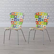 Toddler Chair And Ottoman Set by Set Of 2 Paul Frank Kids Chairs The Land Of Nod