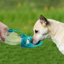Foldable Oxford Dog Cat Cloth Bowl Travel Portable Food Water Feeder