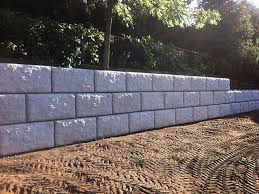 download block retaining wall cost garden design