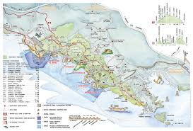 Maps Of Italy Detailed Map by Footpaths