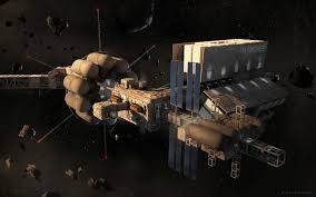 artstation the big nothing space station exterior rafal