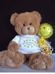 feel better bears get well teddy bears cheer up teddy bears feel better teddy