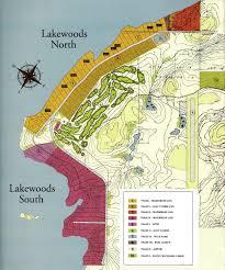 Algonquin Map Lakewoods Lake Life Style