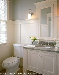 Bathroom Ideas Bathroom Medicine Cabinet With Black Mirror On The Small Bathroom Very Nice With The Board And Batten Walls