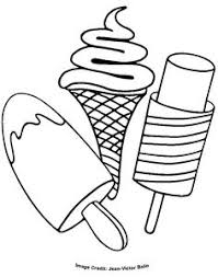 ice cream coloring pages for kids yummy ice cream sundae