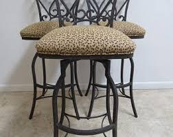 leopard print stool etsy