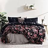 Black Duvet Covers Amazon Com Black Duvets Covers U0026 Sets Bedding Home U0026 Kitchen