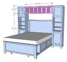 Plans For A Platform Bed With Storage Drawers by Diy Queen Size Storage Bed Includes Cutting Plans U0026 Directions