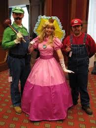 Mario Luigi Halloween Costume Mario Princess Peach Costumes Google Costumes