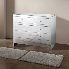 foxhunter mirrored furniture glass with drawer chest cabinet table sentinel foxhunter mirrored furniture glass with drawer chest cabinet table bedroom new