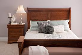 Louis Philippe Sleigh Bed Louis Philippe Sleigh Bed From Simply Amish Furniture