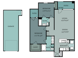 1 Bedroom Garage Apartment Floor Plans by Apartments In San Antonio The Estates At Canyon Ridge