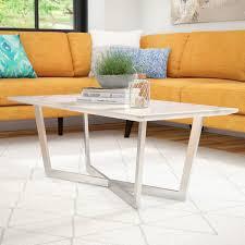 faux marble coffee table faux marble coffee table set wayfair