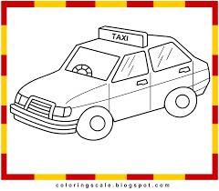 train coloring picture coloring page 5 taxi coloring pages
