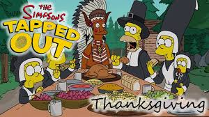 the simpsons tapped out thanksgiving 2015 review