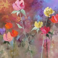 wonders of spring painting by linda monfort