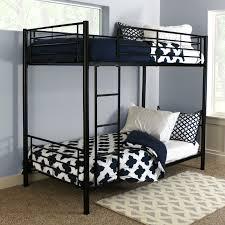 Metal Bunk Bed Frame Sunset Metal Twin Over Twin Bunk Bed Black Hayneedle