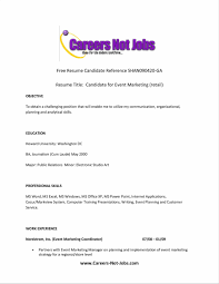 What Should Be The Resume Headline For A Fresher Confortable Good Example Of Resume Title On What Should Be Resume