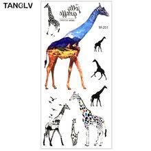 popular giraffe tattoos buy cheap giraffe tattoos lots from china