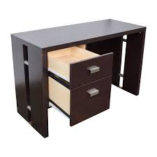 Walmart Filing Cabinets Wood by 76 Off Walmart Walmart Brown Desk With Two Drawers Tables