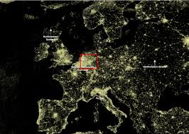 World Map At Night by