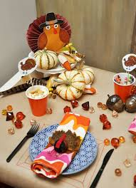 pottery barn kids thanksgiving bunny cakes table setting