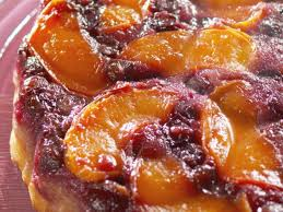 fresh peach and blueberry upside down cake recipe nancy fuller