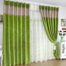 Green Colour Curtains Ideas Green Curtains Ideas With Curtains White And Green