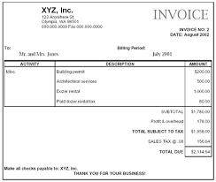 contractor invoices custom construction washington department of revenue