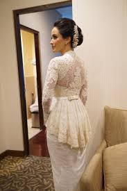 wedding dress kebaya verakebaya wedding dress attire in jakarta bridestory