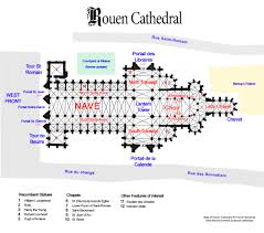 rouen cathedral floor plan copyright french moments french moments