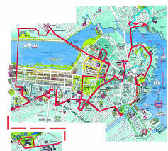 Freedom Trail Map Boston by Experience It