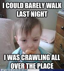 Morning After Meme - tanked toddlers hangover baby had a hard night after 12 funny